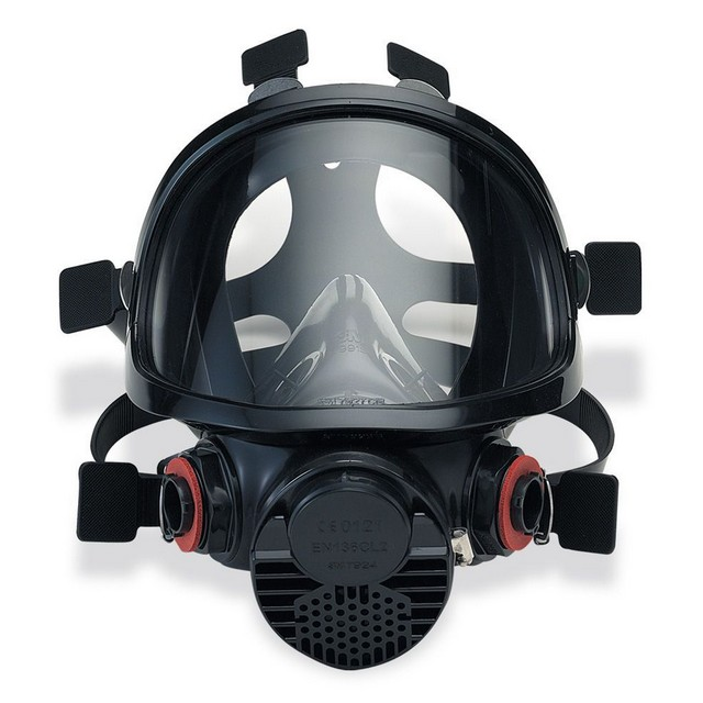 maschera pieno facciale polvere